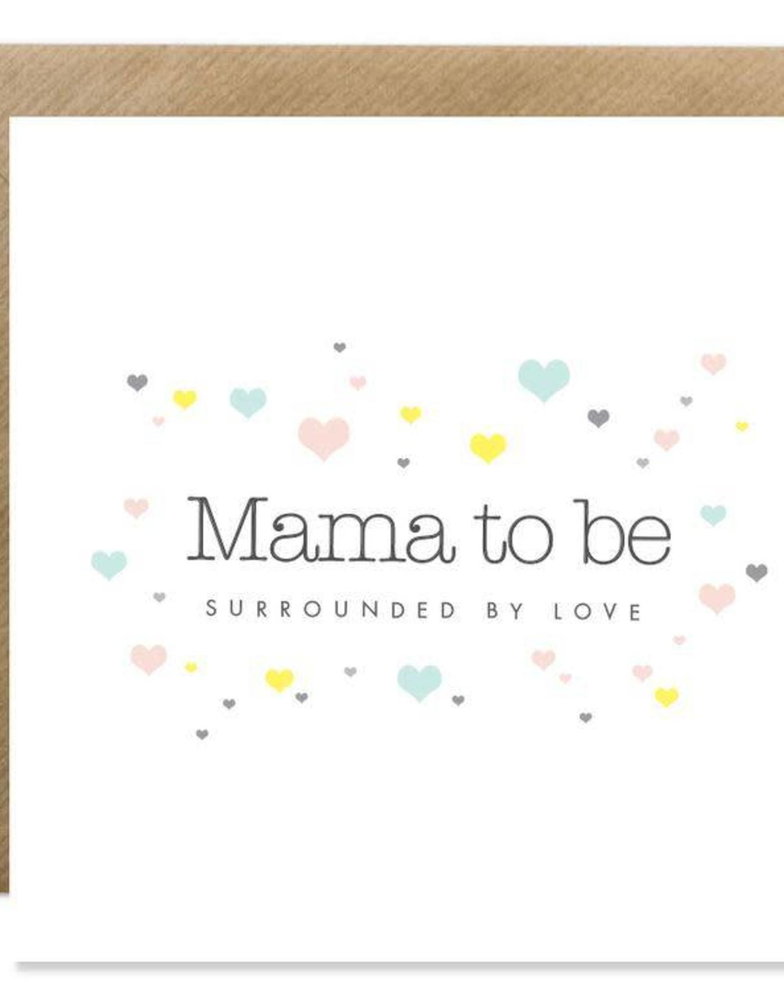 Bold Bunny Bold Bunny Card Mama To Be
