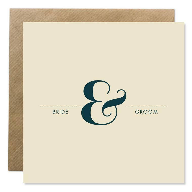 Bold Bunny Bold Bunny Card Bride & Groom
