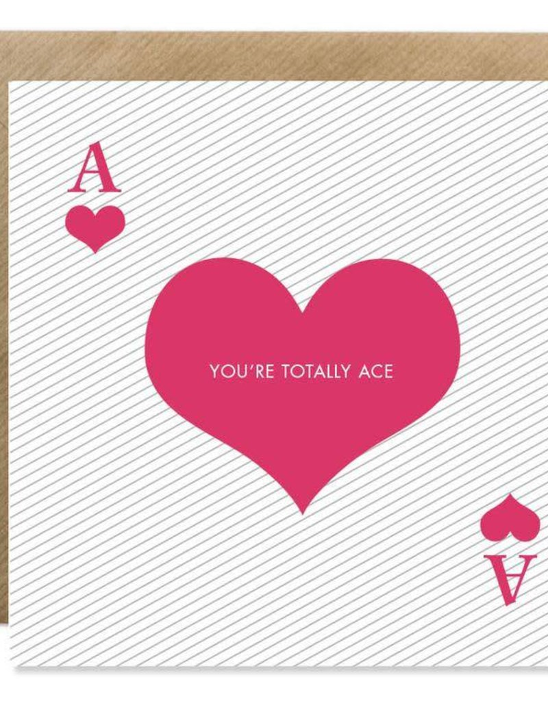Bold Bunny Bold Bunny Card You're Totally Ace