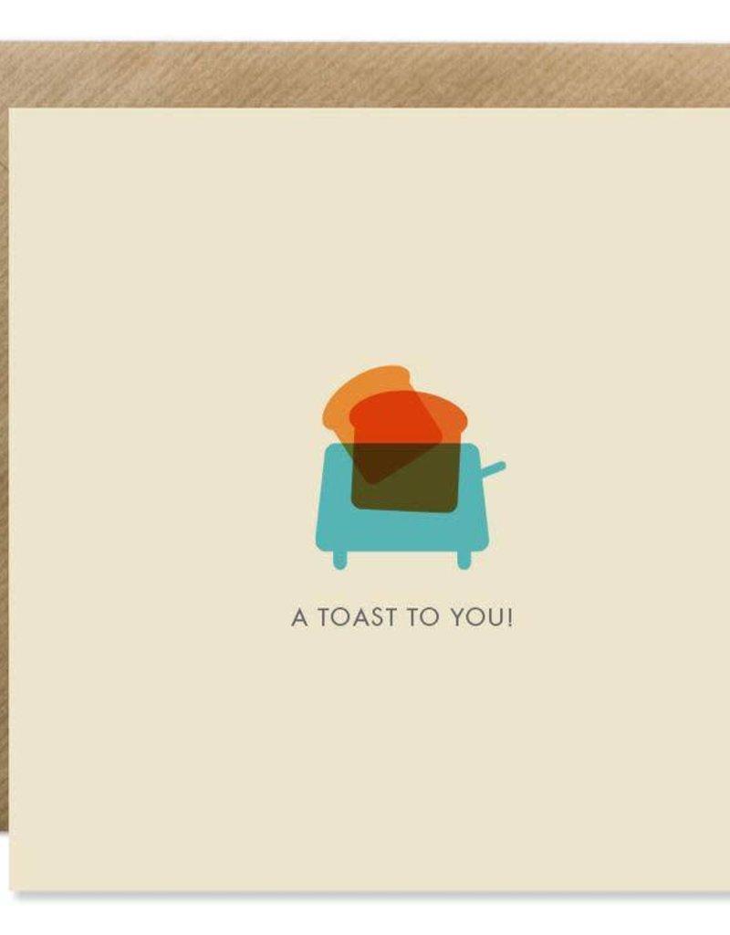 Bold Bunny Bold Bunny Card A Toast To You