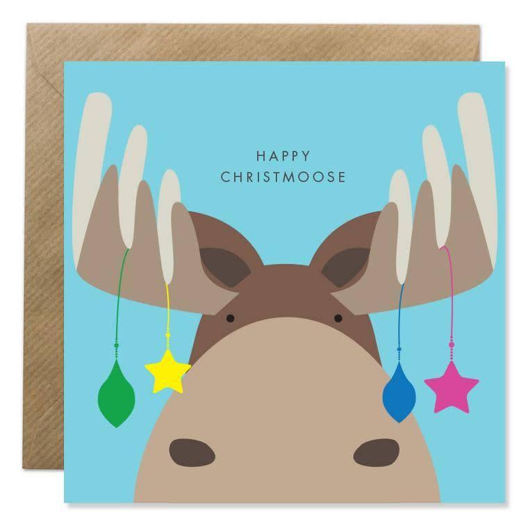 Bold Bunny Bold Bunny Card Happy Christmoose