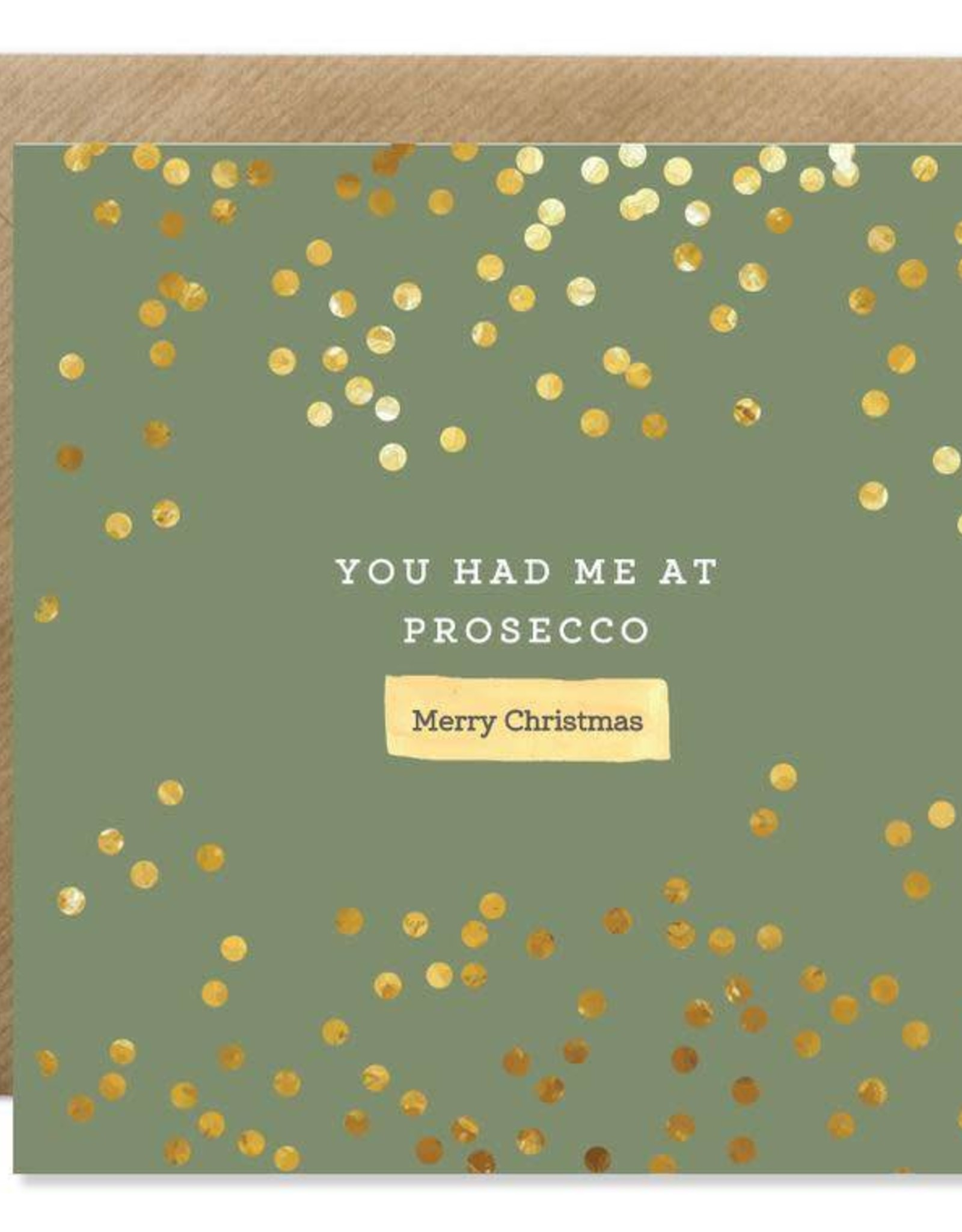 Bold Bunny Bold Bunny Card You Had me at Prosecco