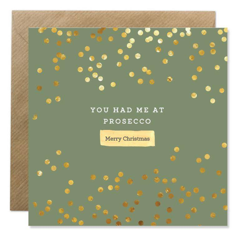 Bold Bunny Bold Bunny Card You Had me at Prosecco