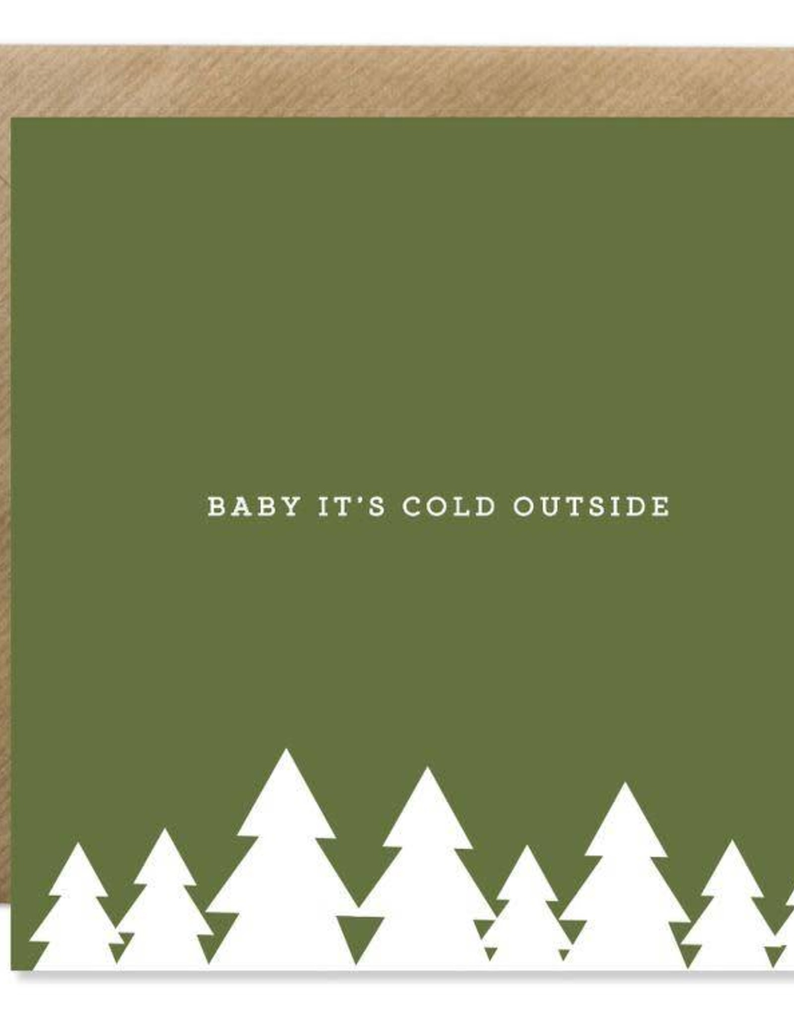 Bold Bunny Bold Bunny Card Baby It's Cold Outside
