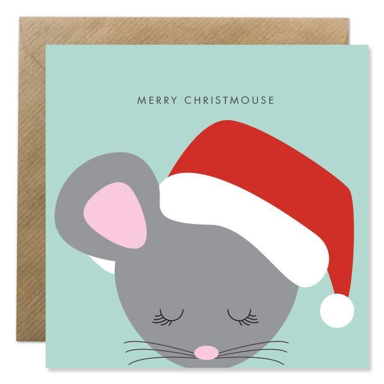 Bold Bunny Bold Bunny Card Merry Christmouse