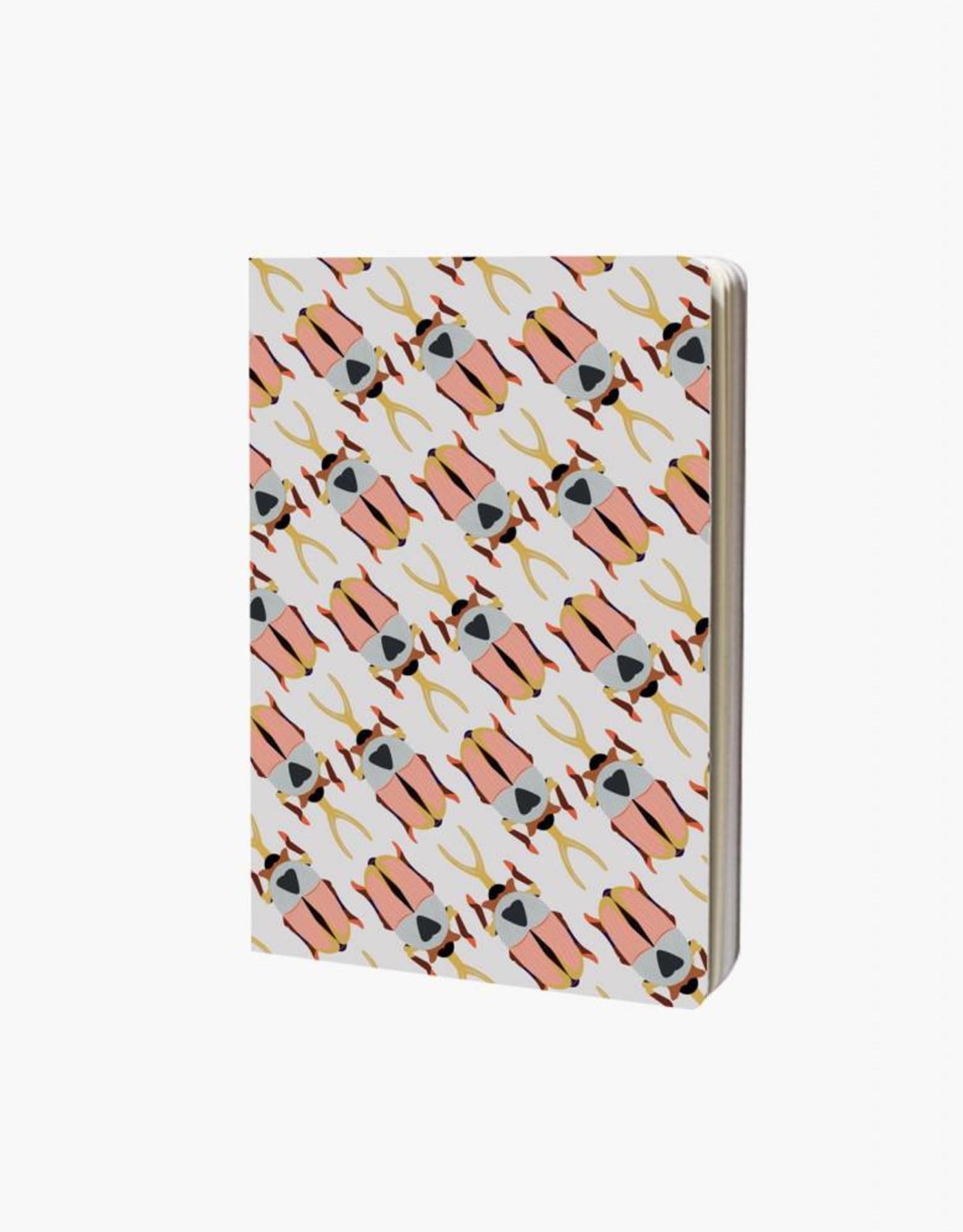 Studioroof Notebook A6 Rhino Beetle