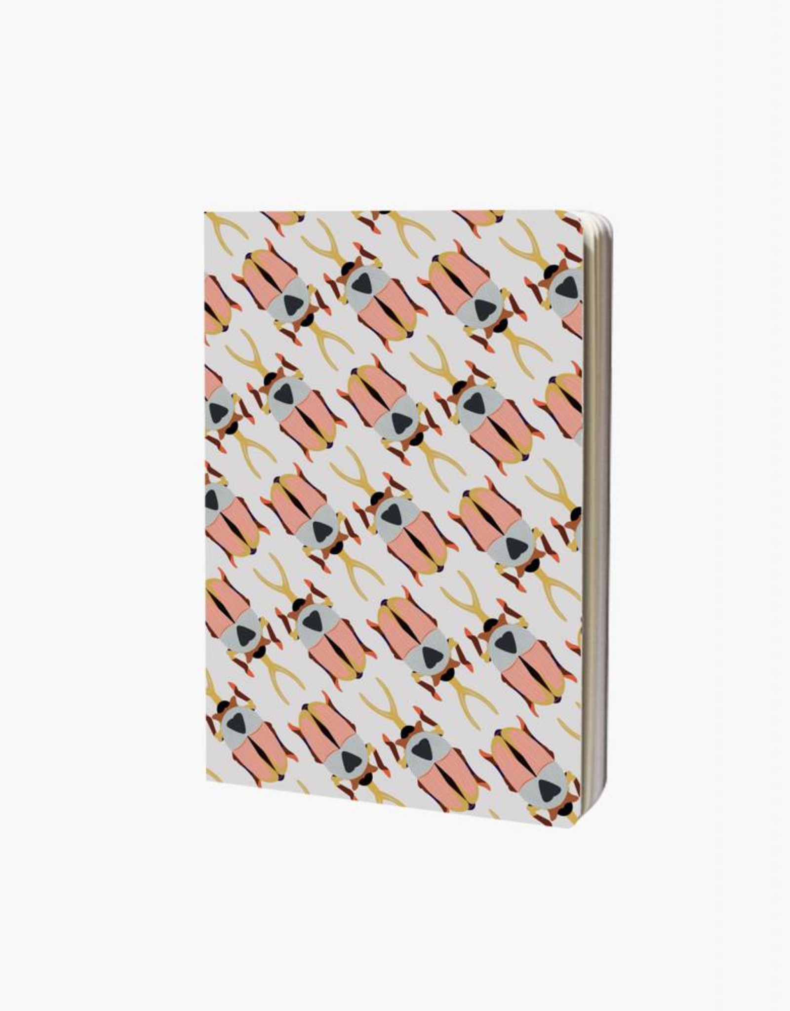 Studioroof Studioroof Notebook A6 Rhino Beetle
