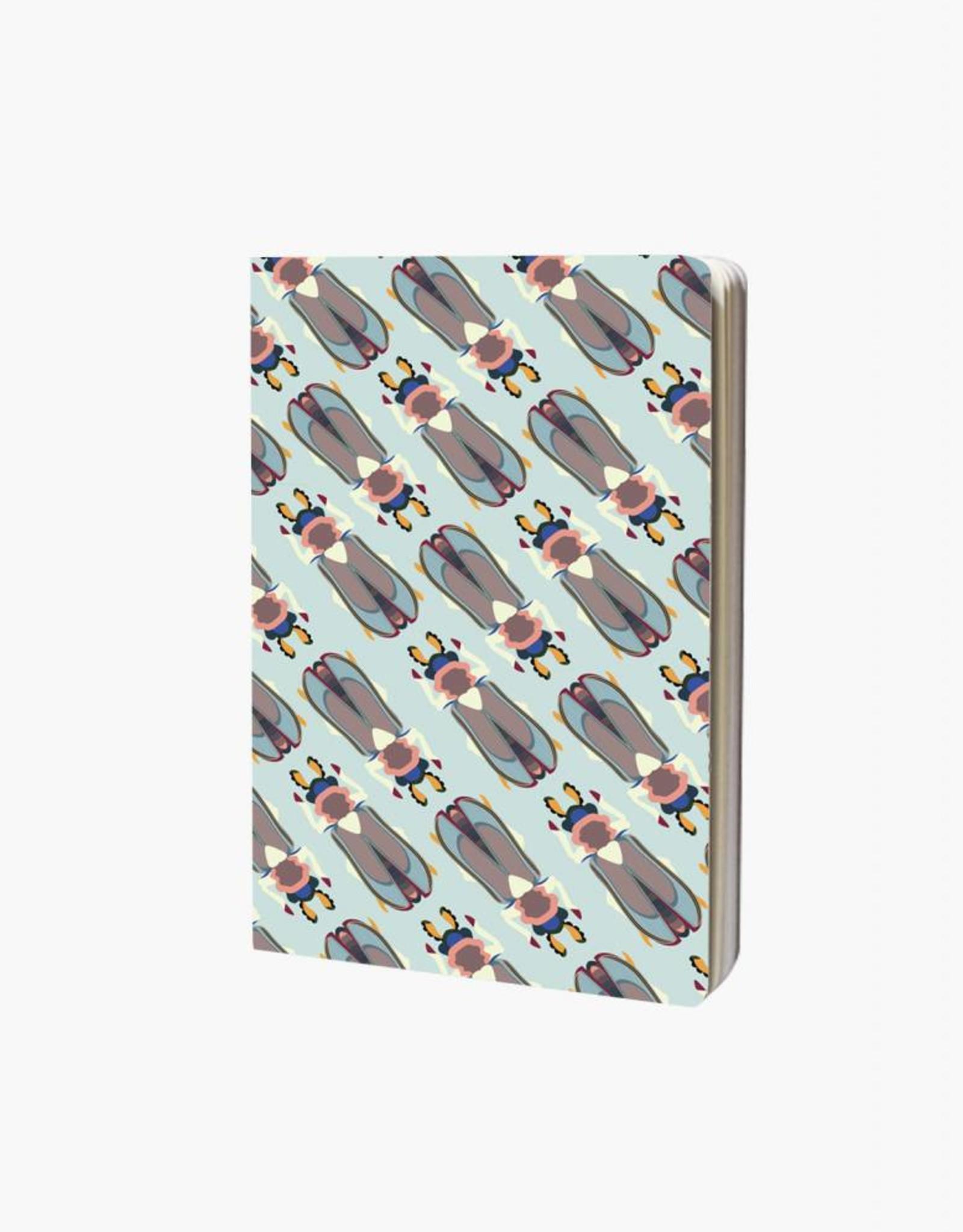 Studioroof Studioroof Notebook A6 Tiger Beetle