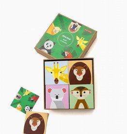 Studioroof Studioroof Memory Game Wild Animals