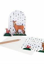 Studioroof Pop Out Card Deer