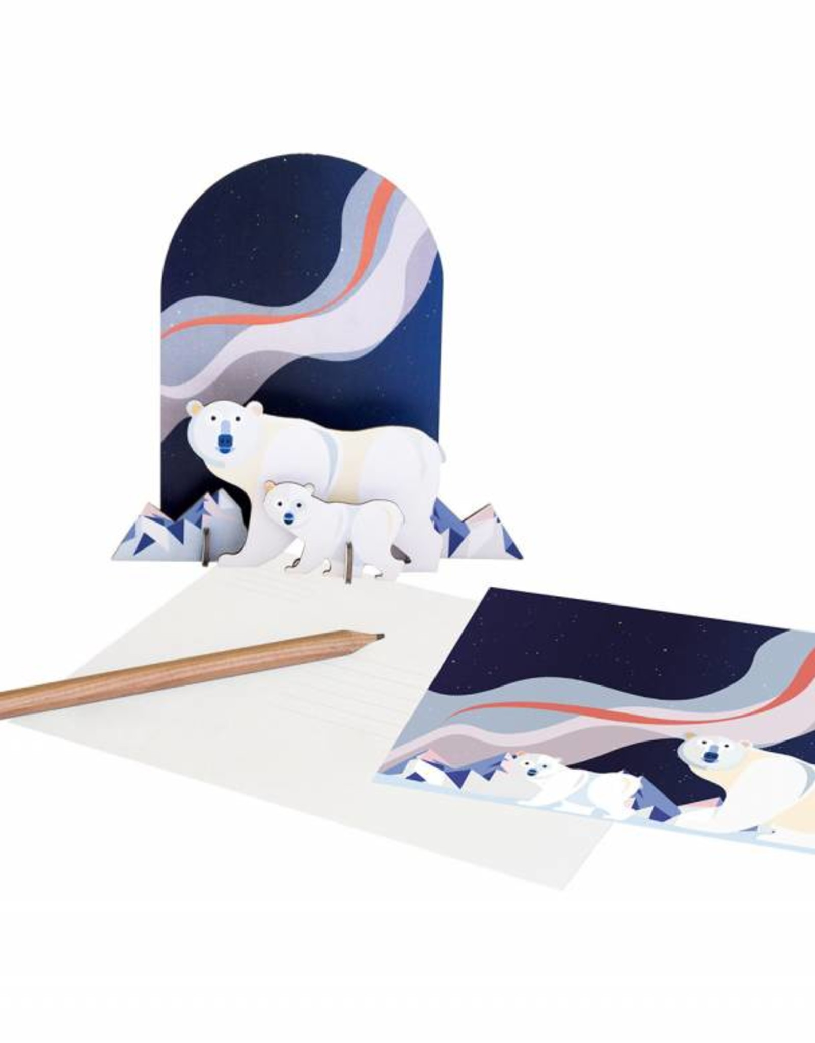 Studioroof Pop Out Card Polar Bears