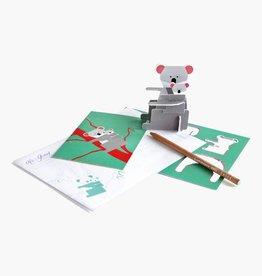 Studioroof Pop out card Koala