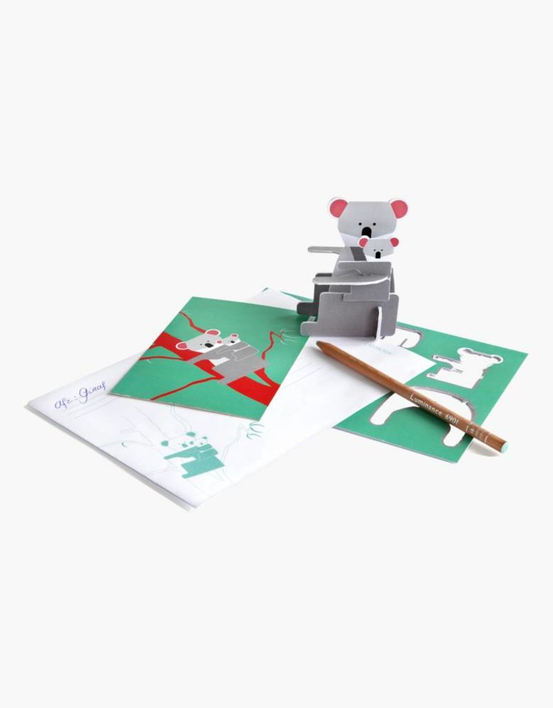 Studioroof Pop out card Koala