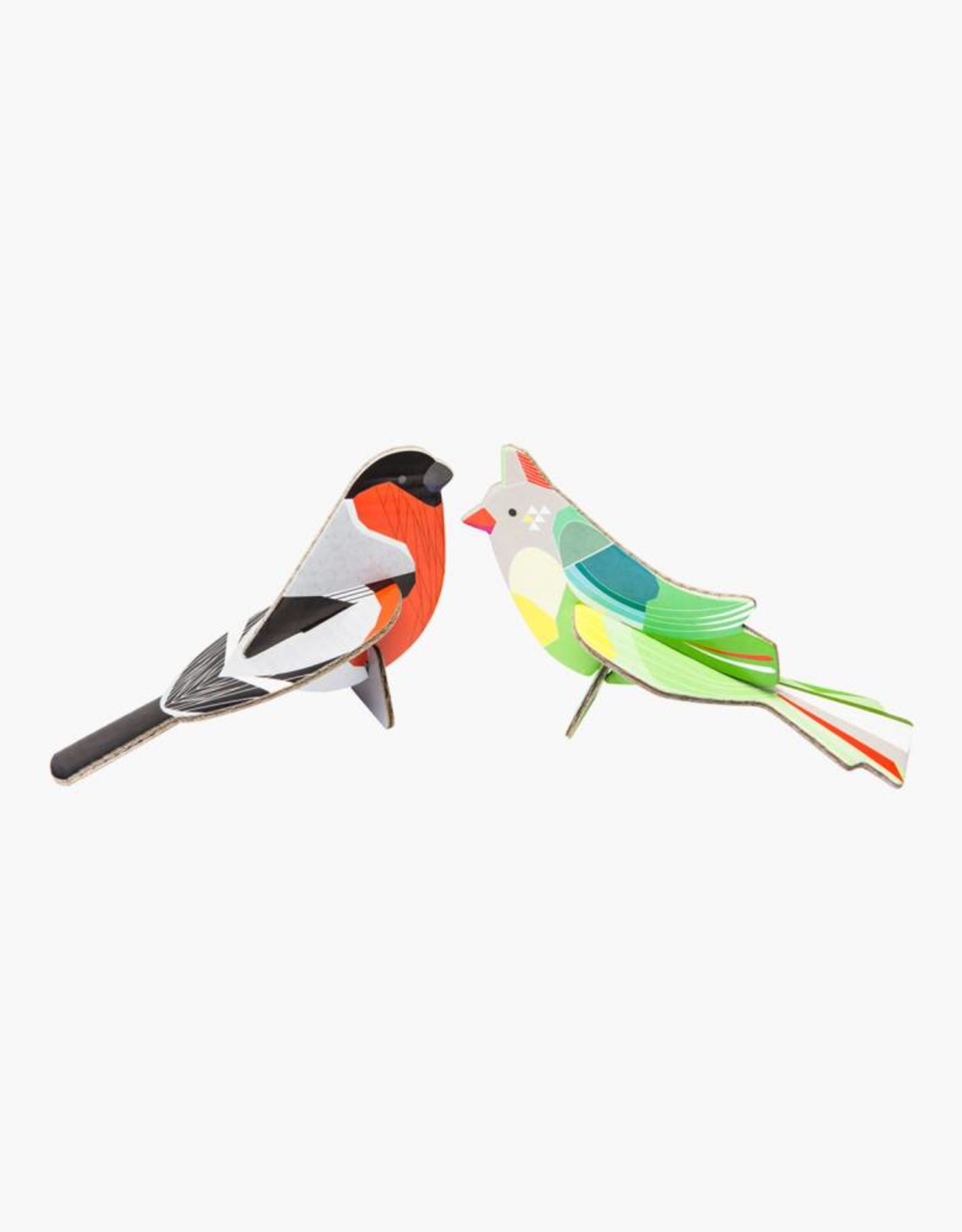 Studioroof Pop Out Card Finches