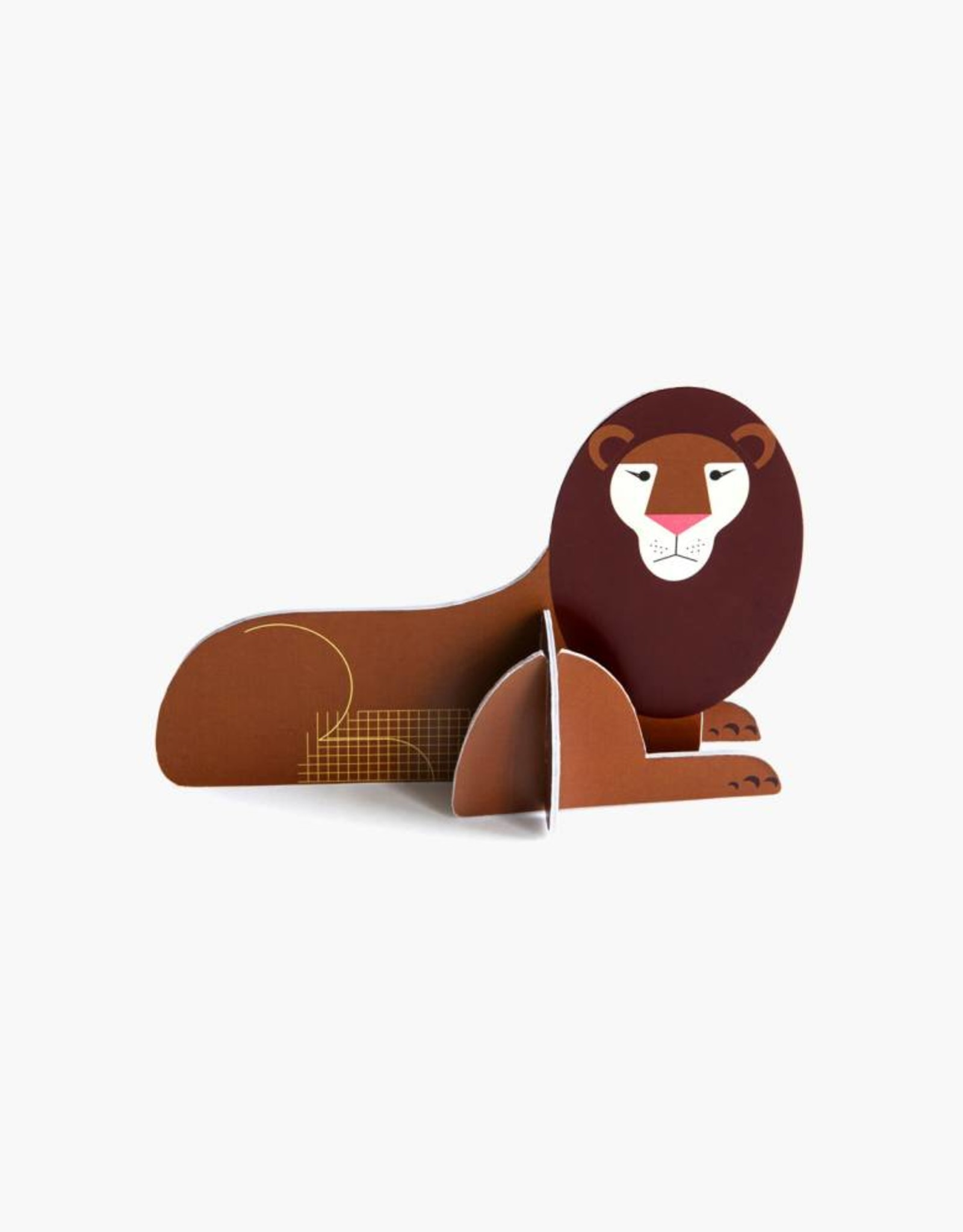 Studioroof Pop out lion