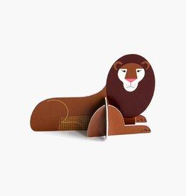 Studioroof Pop Out Card Lion