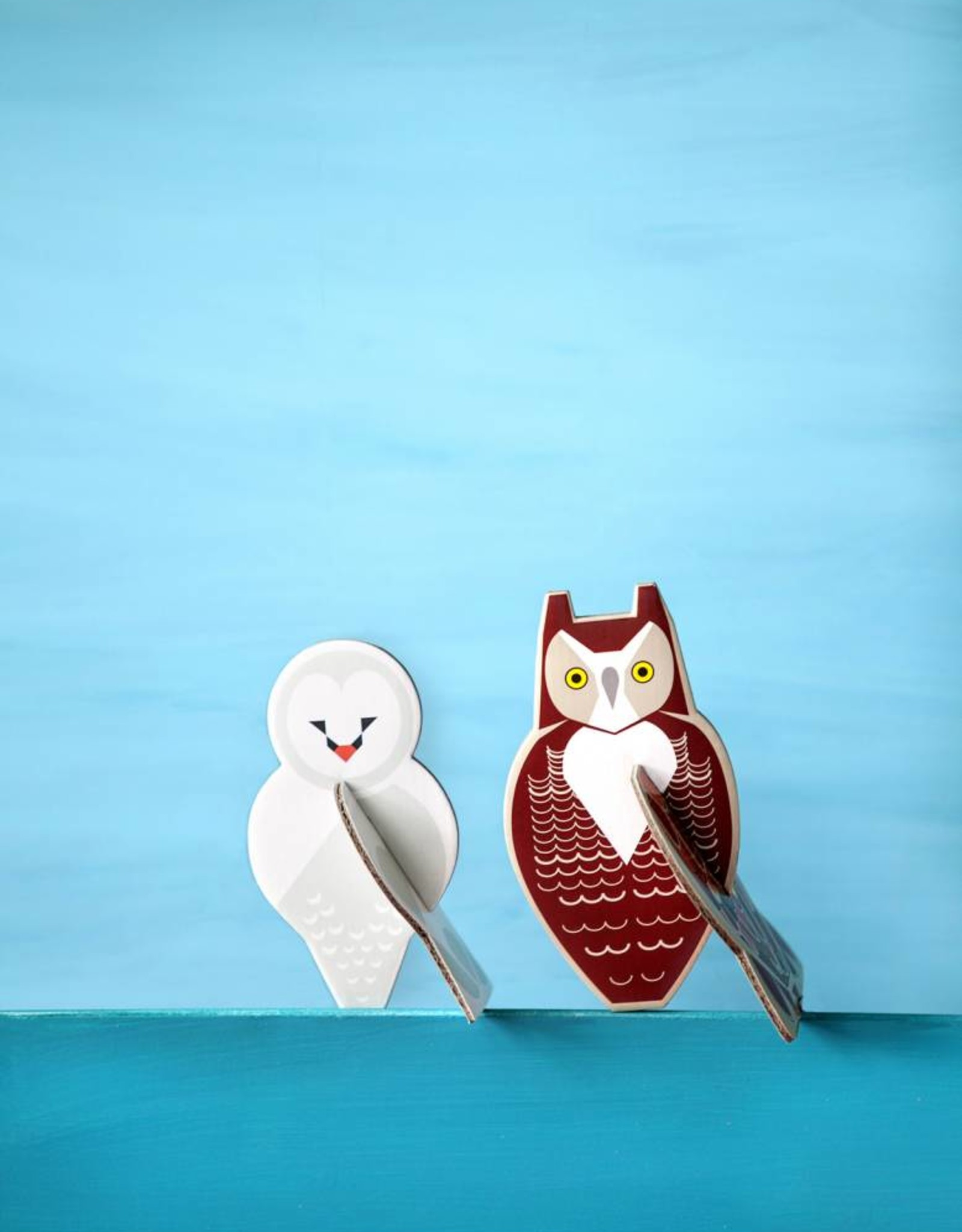 Studioroof Pop out card Owls