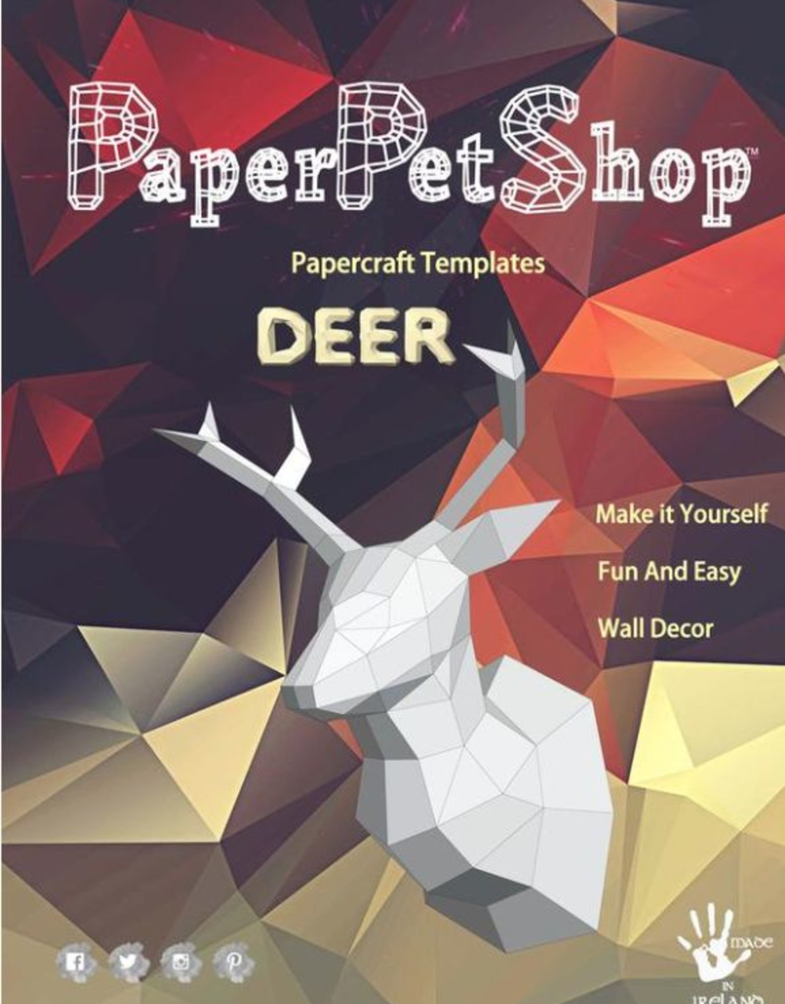 Paper Petshop Paper Pet Shop Deer