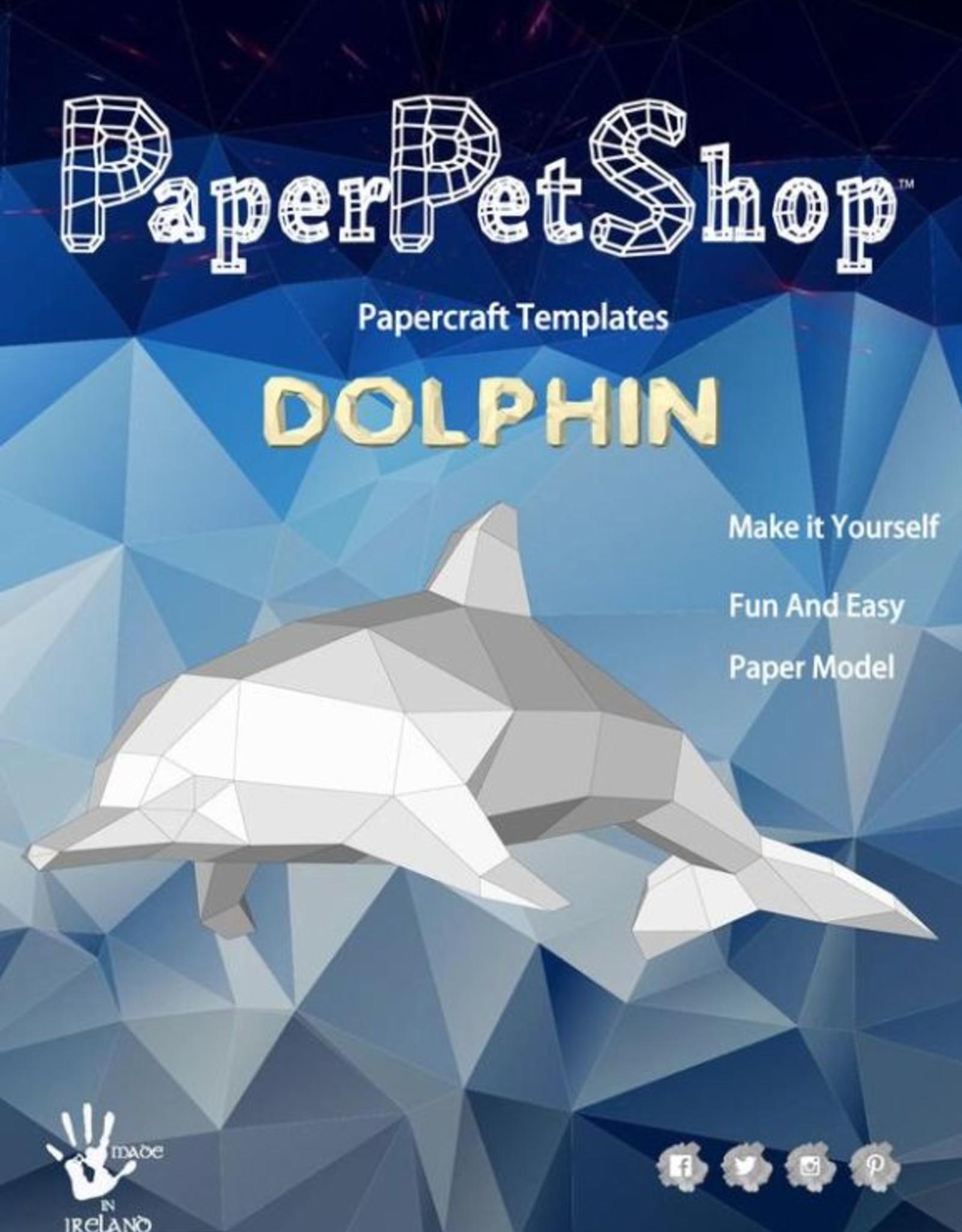 Paper Petshop Paper Pet Shop Dolphin