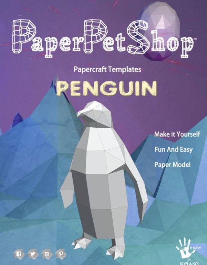 Paper Petshop Paper Pet Shop Penguin