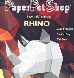 Paper Petshop Paper Pet Shop Rhino