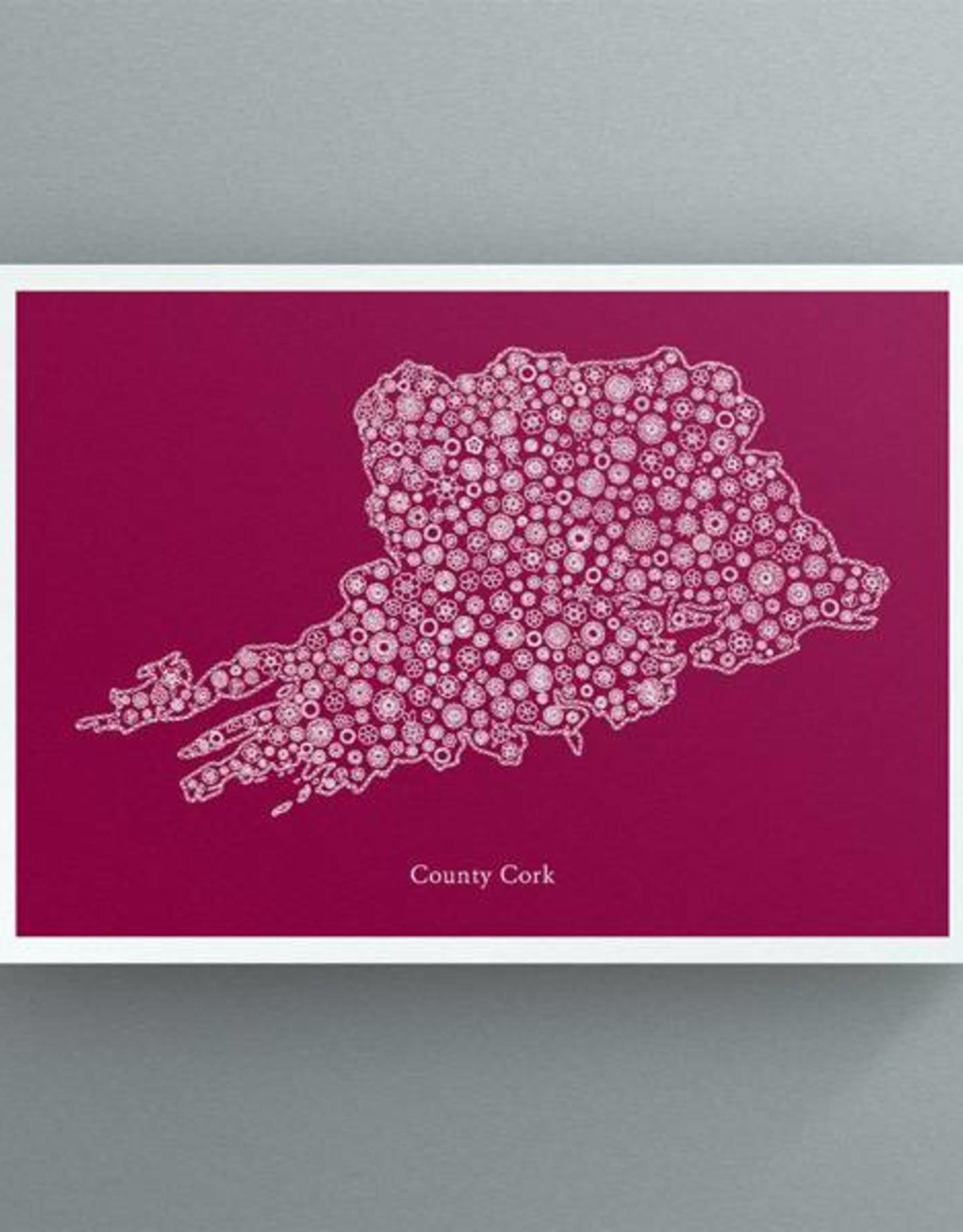Petal to Petal Petal to Petal Cork in Bloom Print Red
