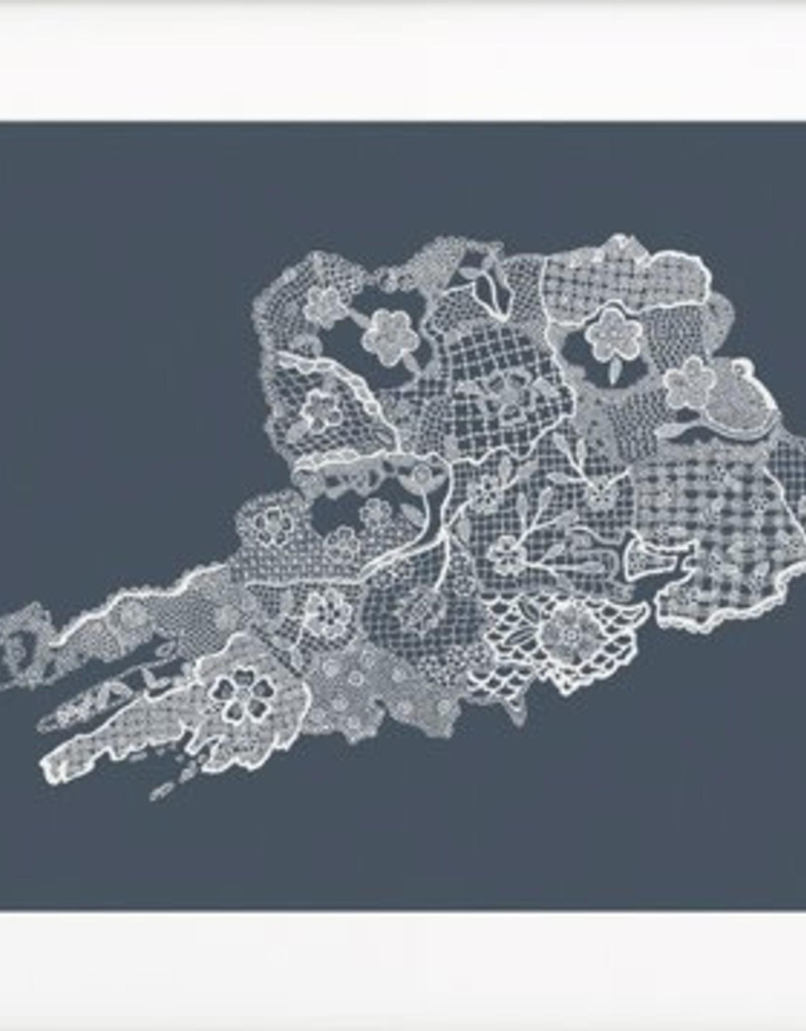 Petal to Petal Petal to Petal Cork Lace Print Grey