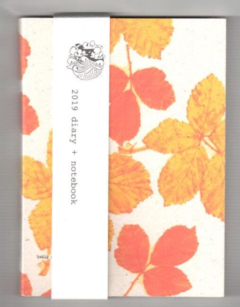 Badly Made Books Badly Made Books Autumn Leaves Diary A5