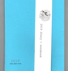 Badly Made Books Badly Made Books A5 Diary 2019 Blue