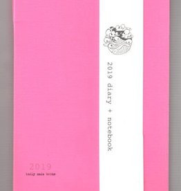 Badly Made Books Badly Made Books A5 Diary 2019 Pink