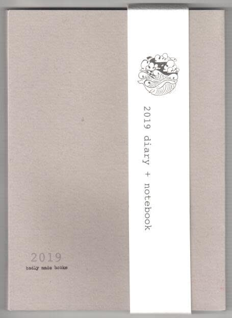 Badly Made Books Badly Made Books A5 Diary 2019 Grey