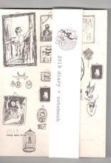 Badly Made Books Badly Made Books A5 2019 Diary - 'Gallery' Senan O'Connor