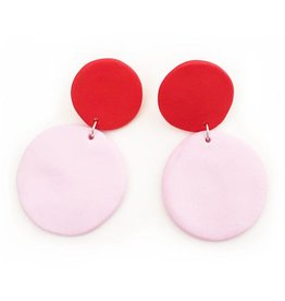 Punch & Fable Punch and Fable Circle Earrings Drop I