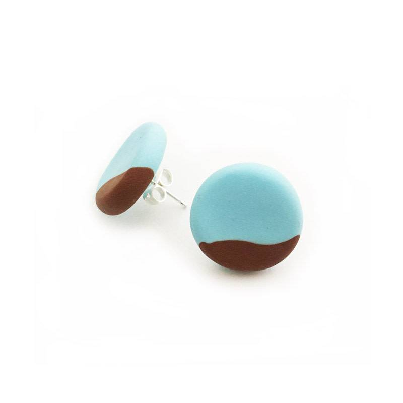 Punch & Fable Punch and Fable Small Studs St Rest