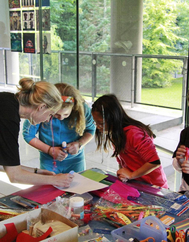 Summer art Club The wonderful world of art 8-12 July (5-8yrs)
