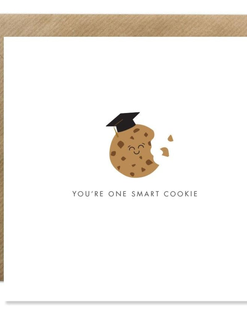 Bold Bunny Bold Bunny Card You're One Smart Cookie