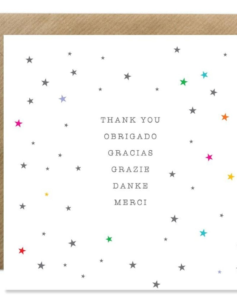 Bold Bunny Bold Bunny Card Thank You Obrigado