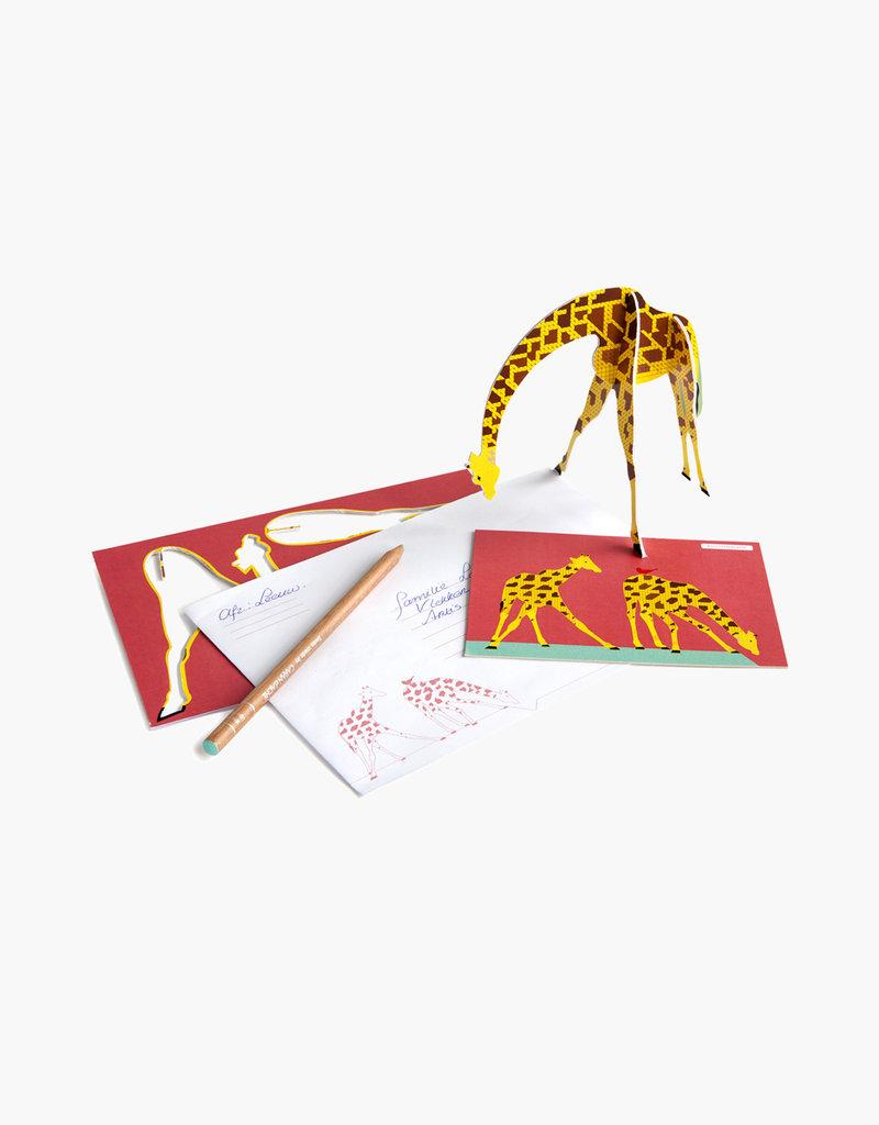 Studioroof Pop Out Giraffe
