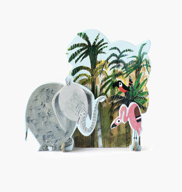 Studioroof Tiny Story Pop Out Card Fiep_Jungle Elephant