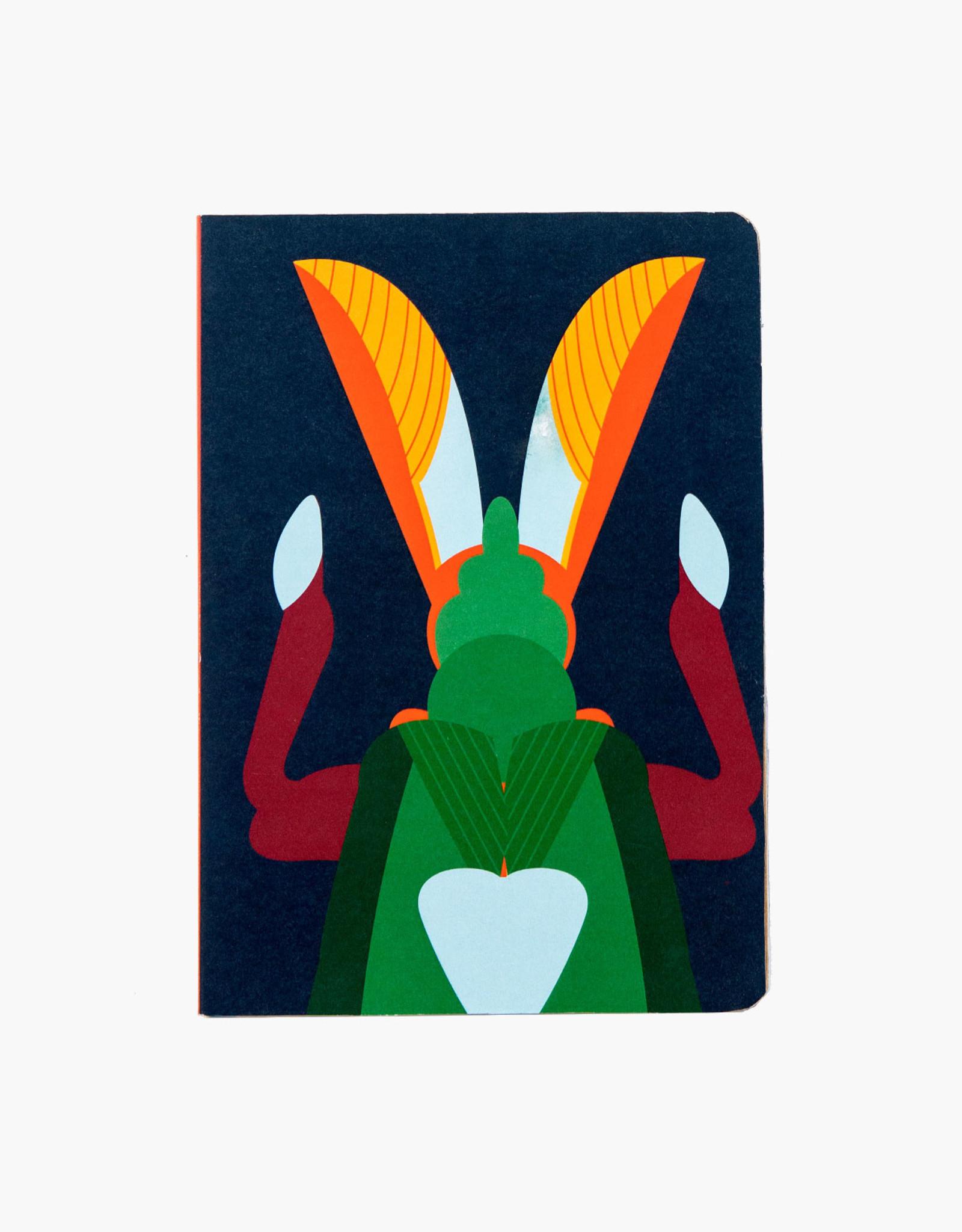 Studioroof Grasshopper A5 Notebook