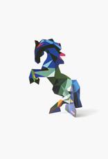 Studioroof Pop Out Card Frysk Horse