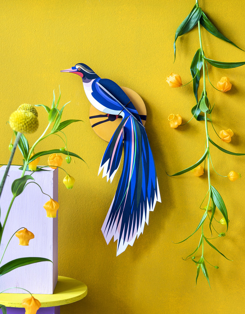 Studioroof Studio Roof Paradise Bird Flores Wall Decoration