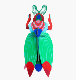 Studioroof Giant Scarab Beetle Wall Decoration