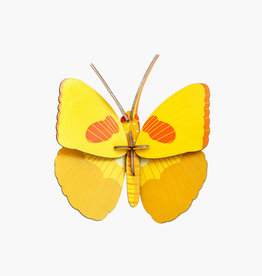 Studioroof Wall Decor Yellow Butterfly (small)