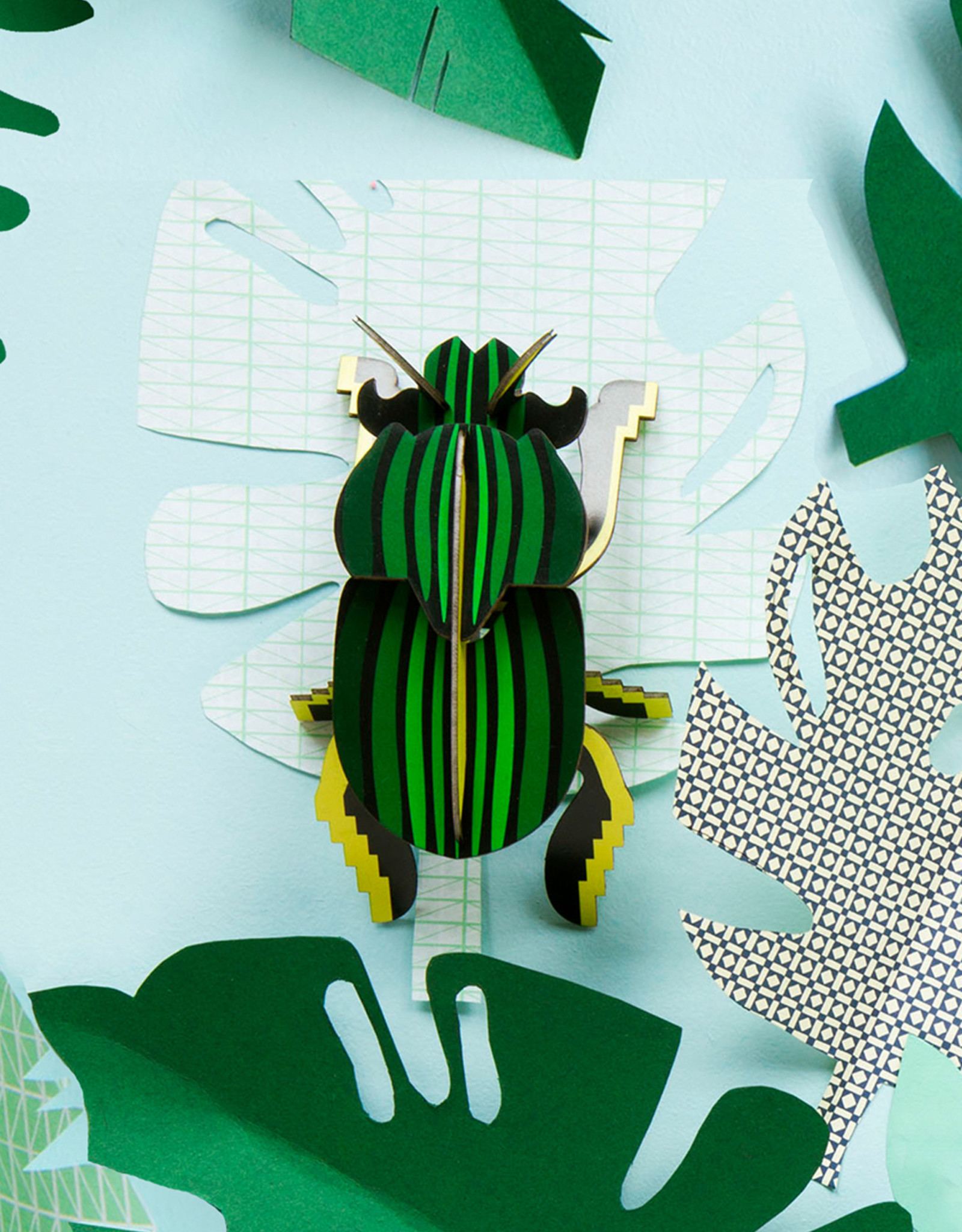 Studioroof Wall Decor Scarab Beetle small