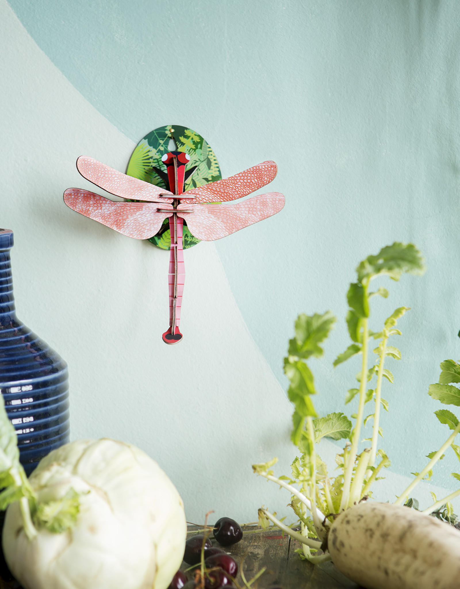 Studioroof Studio Roof Wall Decor Nature Pink Dragonfly small