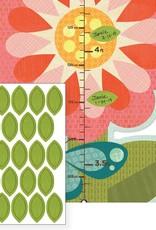 Petit Collage PTC101 GC-Garden Flowers Growth Chart