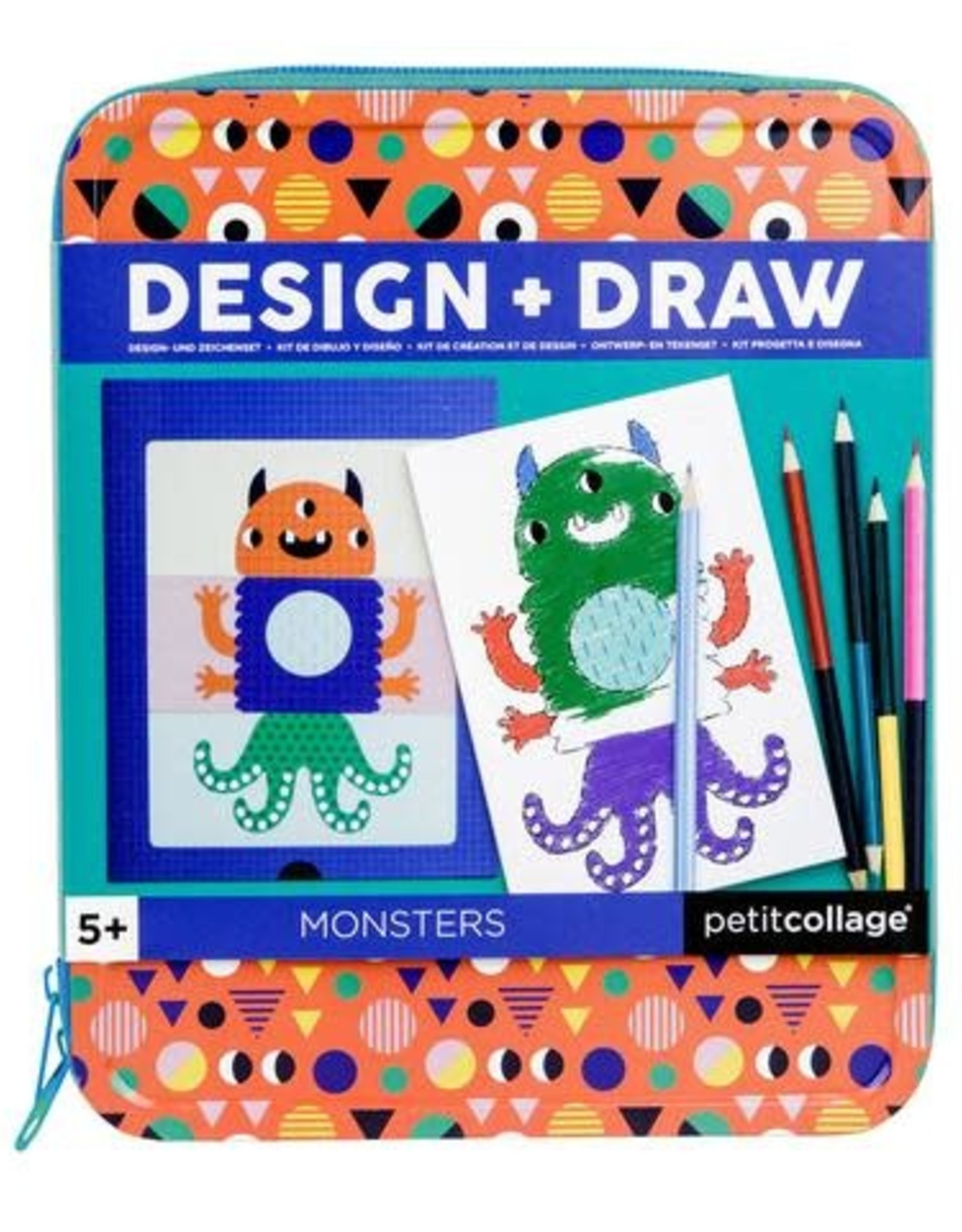 Petit Collage PTC264 TD-Monsters How To Draw