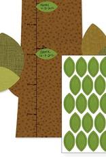Petit Collage PTC103 GC-Tree Friends Growth Chart