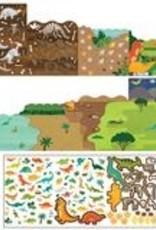 Petit Collage PTC120 ST-Dinosaurs Stickers